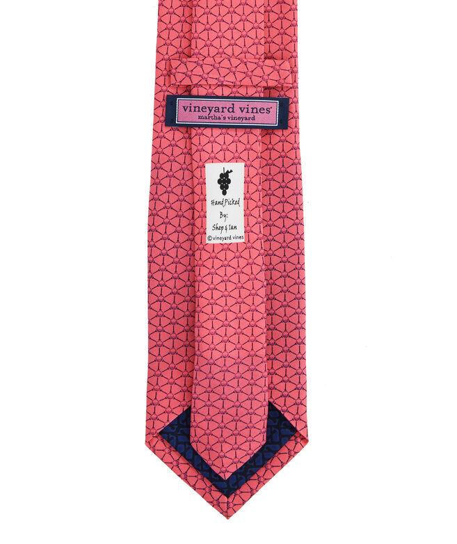 Tee & Ball Geo Printed Tie