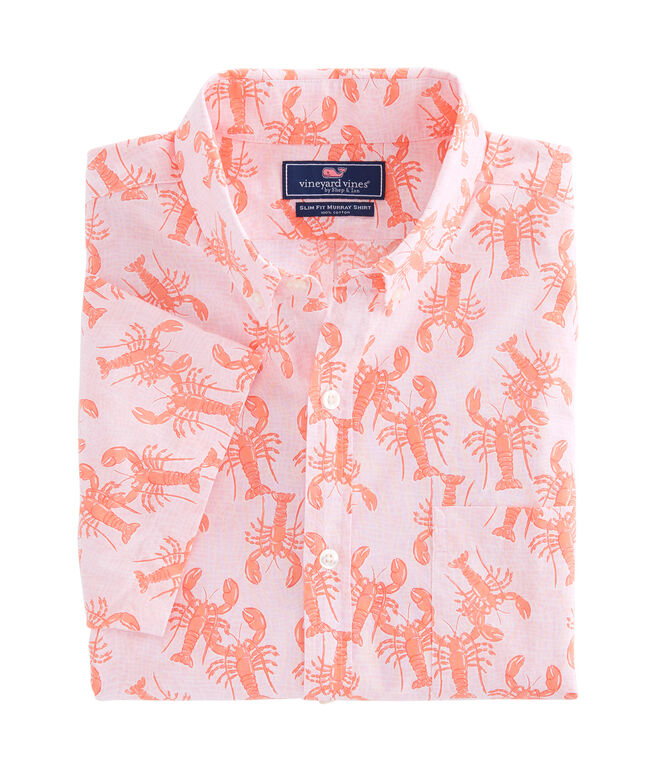 Short-Sleeve Lobster Toss Murray Shirt