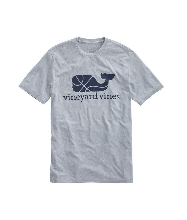 Heather Basketball Whale Performance T-Shirt