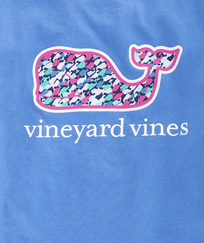Girls Swimming Whales Whale Fill Pocket Tee