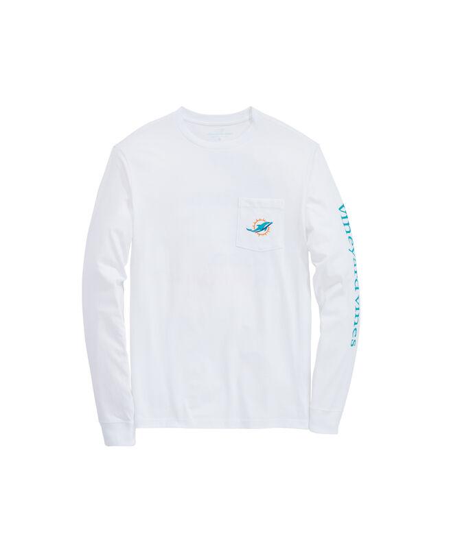 Miami Dolphins Long-Sleeve EDSFTG T-Shirt