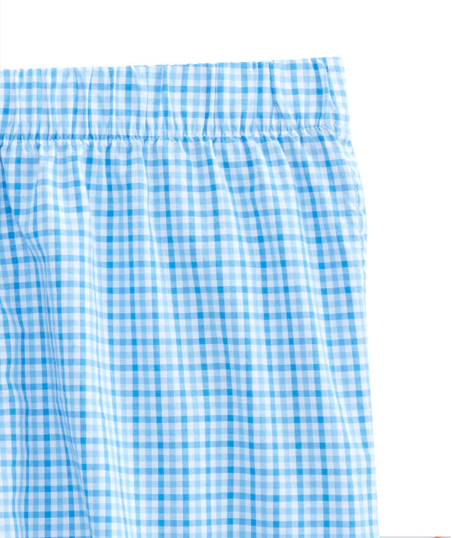 Tipsy Turtle Check Boxers