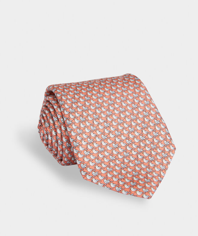 Early Bird Gets The Worm Printed Tie
