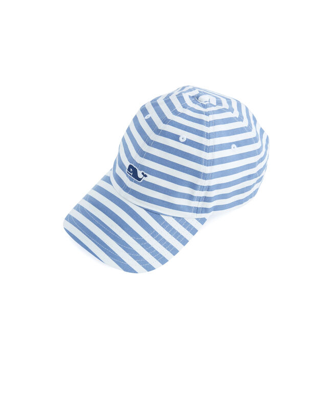 All Over Striped Hat