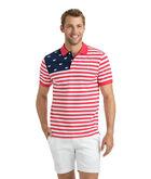 USA Flag Slim Polo