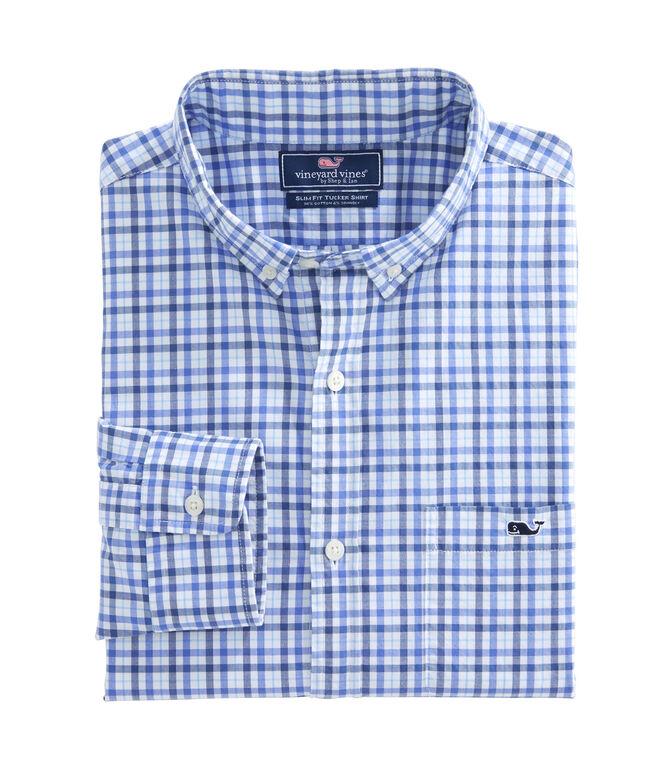 Bramble Path Plaid Slim Tucker Shirt