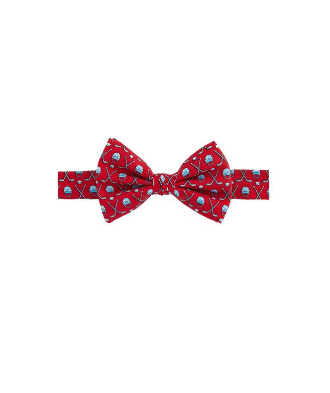 Boys' Hockey Gear Printed Bow Tie