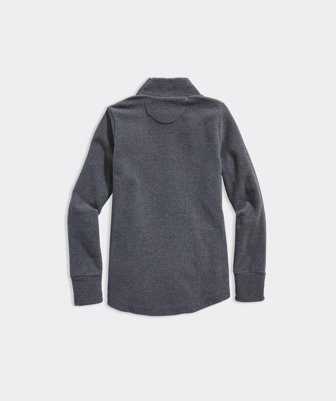 Girls' Lightweight Fleece Button Shoulder Tunic