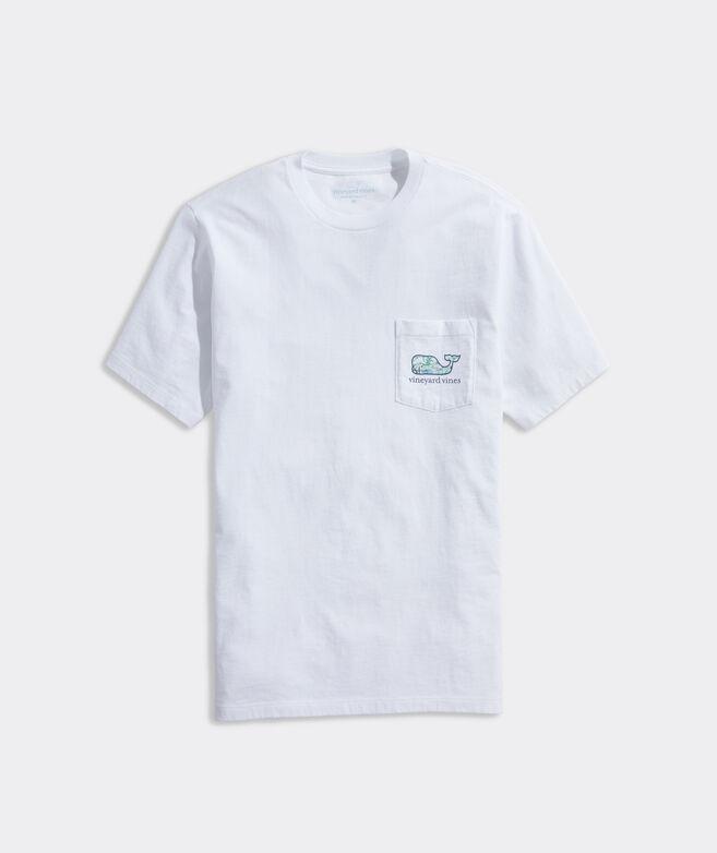 Egrets Whale Short-Sleeve Pocket Tee