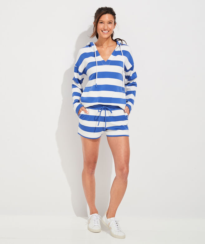 Dreamcloth Rugby Stripe Popover Hoodie