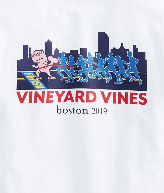 Kids Long-Sleeve Boston Marathon Winning Whale T-Shirt