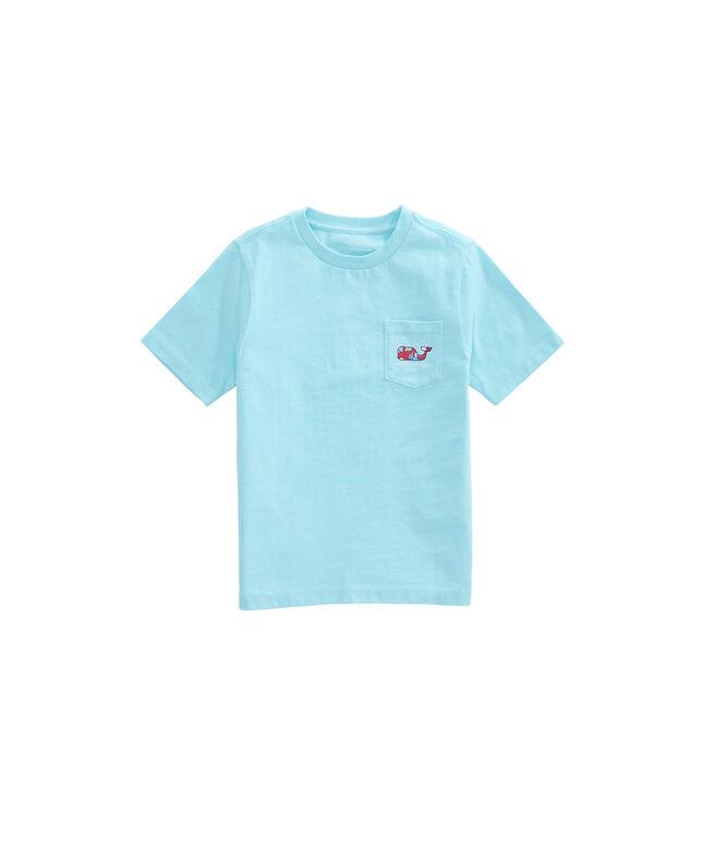 NWT Vineyard Vines Boys S//S Shell Crab Pocket T-Shirt Size Small