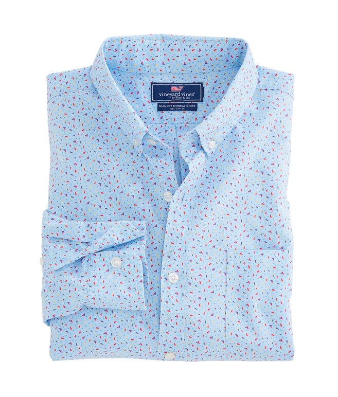 Micro Sail Dot Slim Murray Shirt