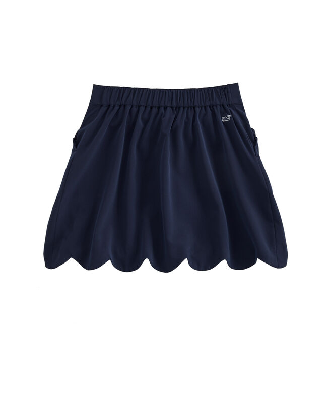 Girls' Scallop Sport Skort