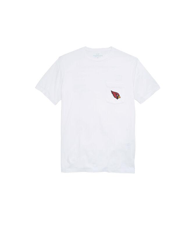 Arizona CardinalsShort-Sleeve Block Stripe Tee
