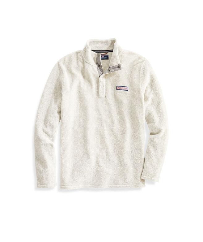 Vineyard Snap Placket Sherpa Pullover
