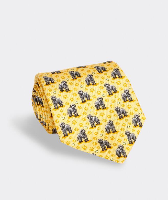 Labradoodle Printed Tie