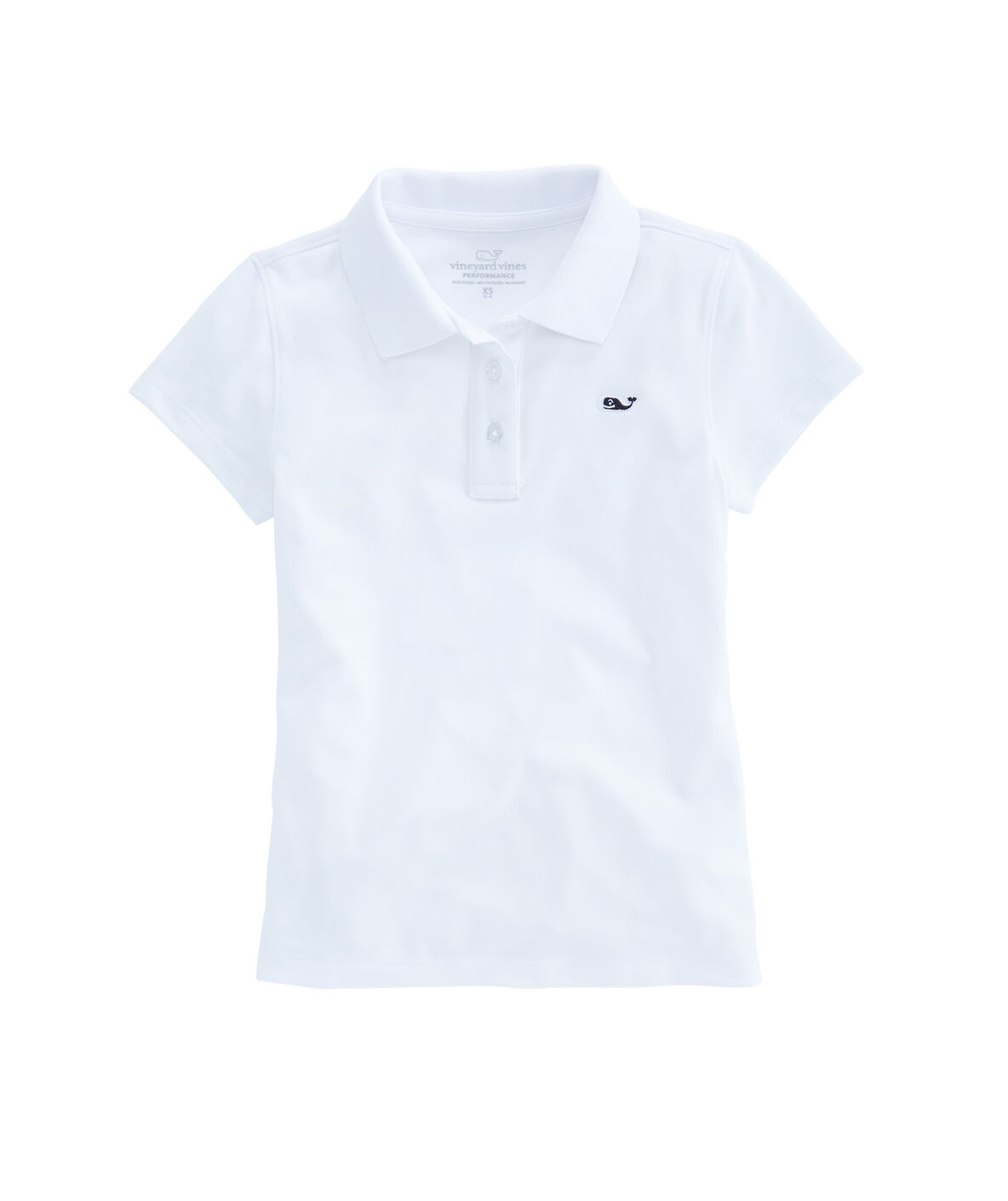 Shop Girls Performance Club Polo At Vineyard Vines