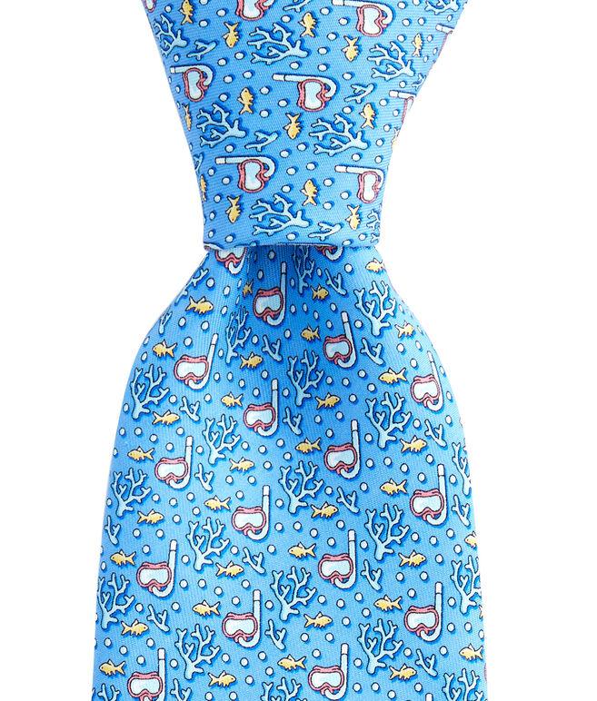Scuba Printed Tie