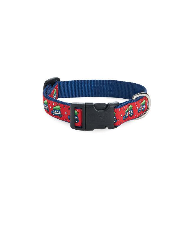 Woody & Tree Dog Collar