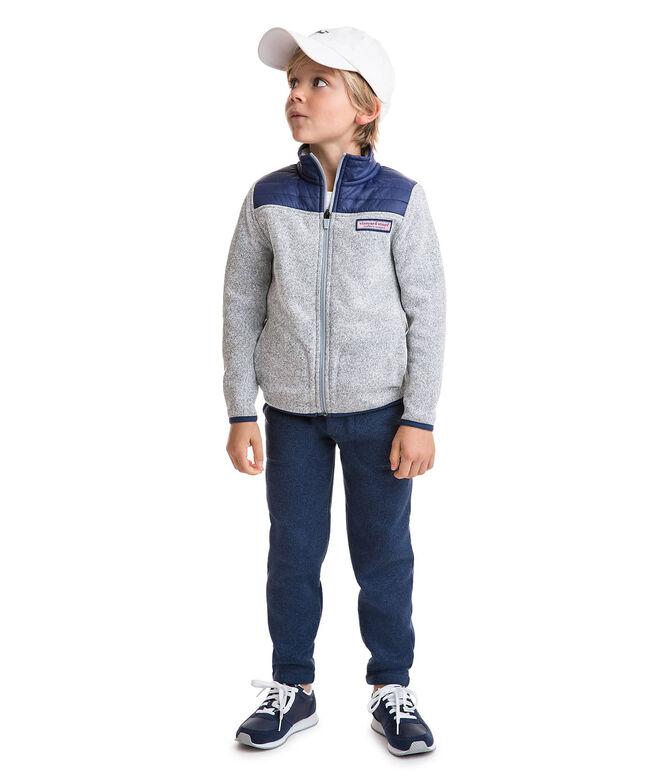Boys Sweater Fleece Full-Zip
