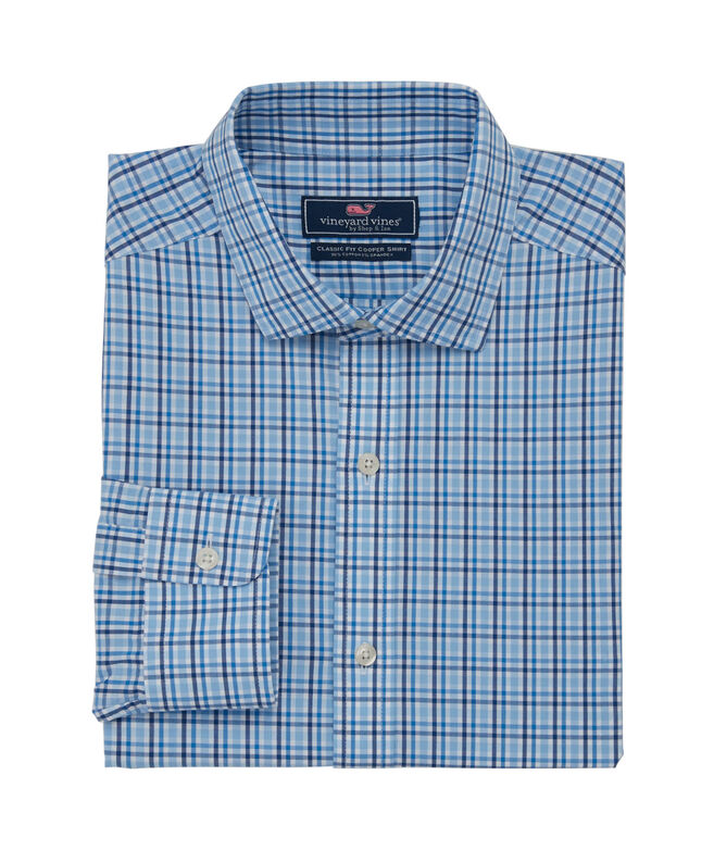 Classic Fit Fjord Spread Collar Cooper Shirt