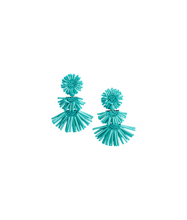 Firework Fan Drop Earrings