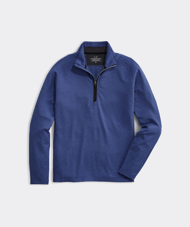 Big & Tall Flagler Performance 1/2-Zip Pullover