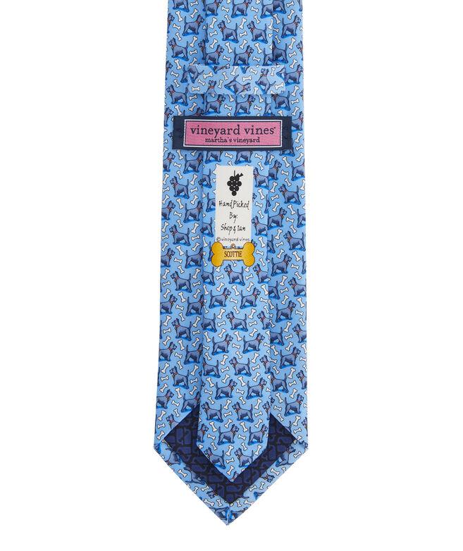 Scottie Printed Tie