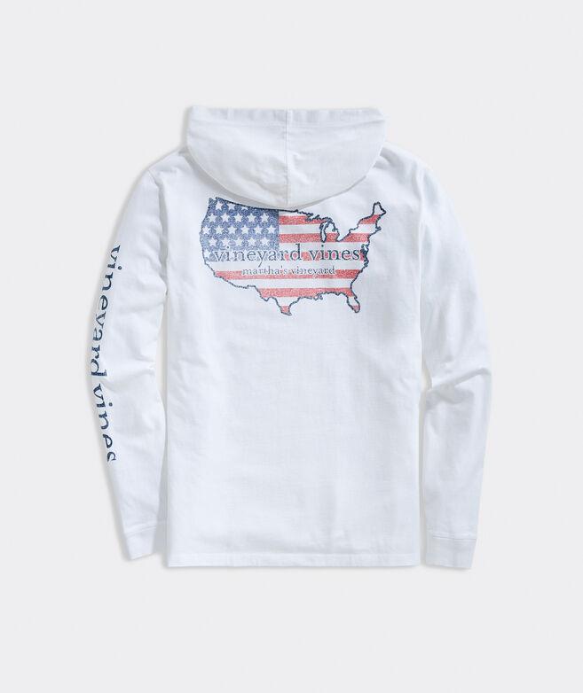 USA Long-Sleeve Hoodie Tee