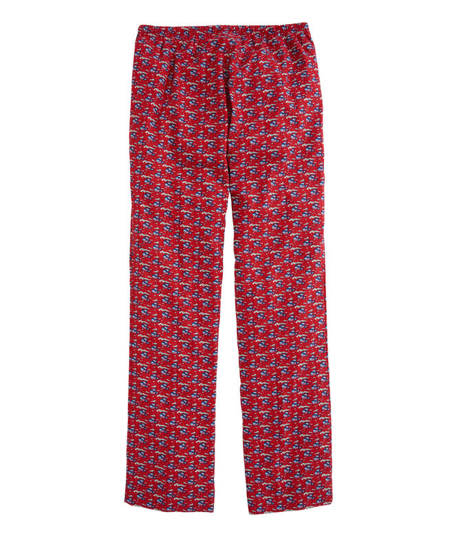 OUTLET Ski Whale Flannel Lounge Pants