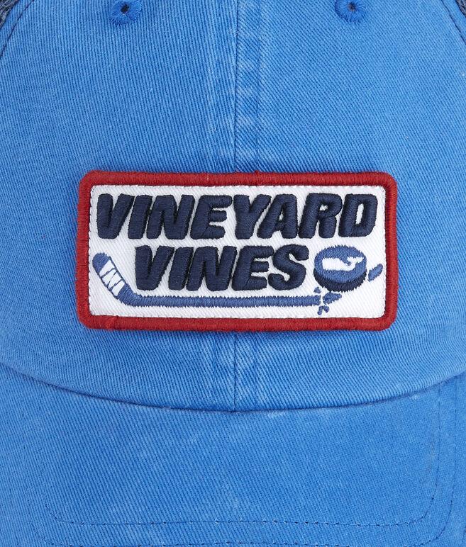 Hockey Patch Trucker Hat