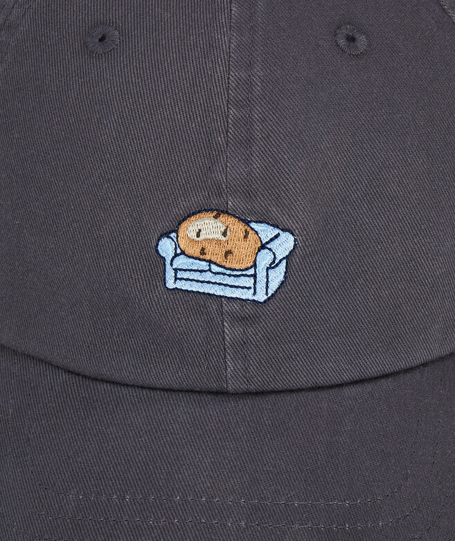 Couch Potato Icon Baseball Hat