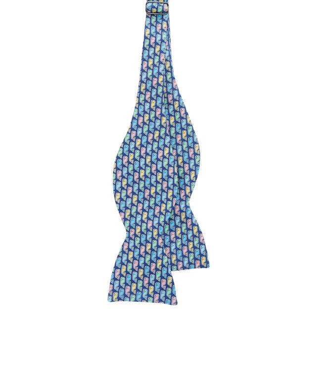 Pastel Whale Bow Tie