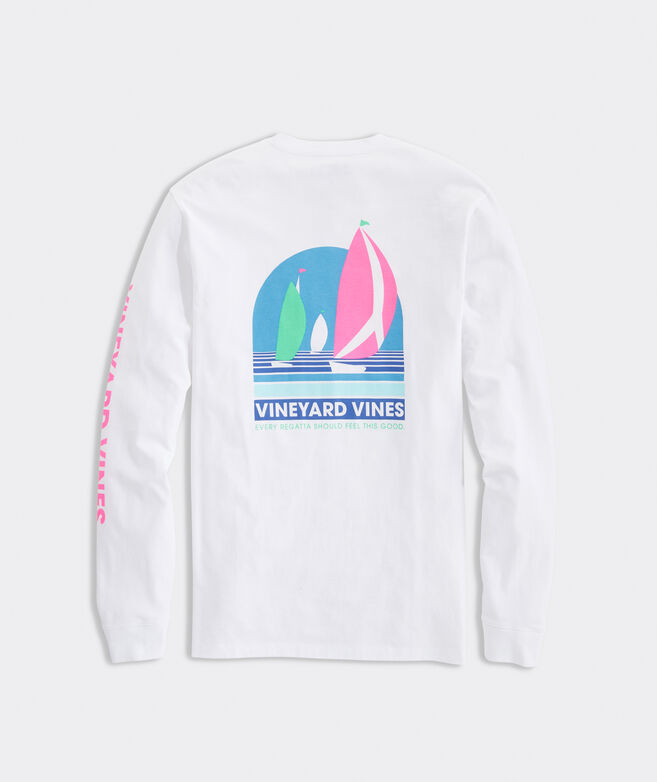Regatta Long-Sleeve Pocket Tee