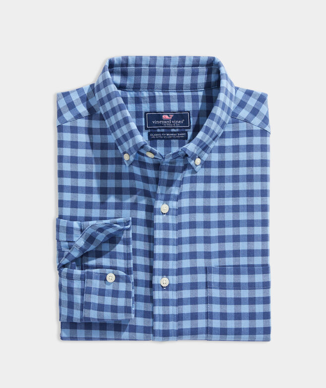 Island Twill Gingham Shirt