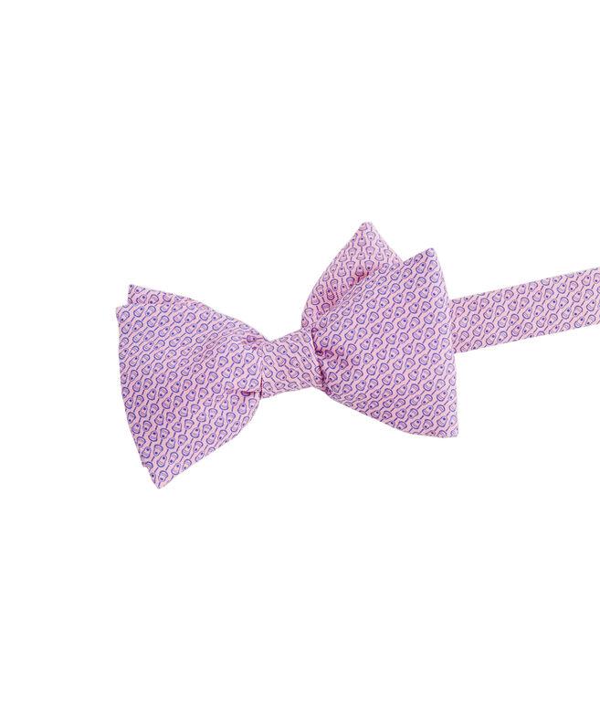 Micro Lax Printed Bow Tie