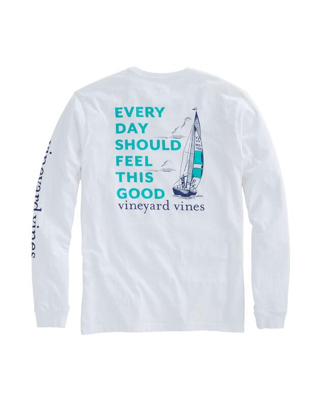 Vineyard Vines Mens Long Sleeve T Shirt