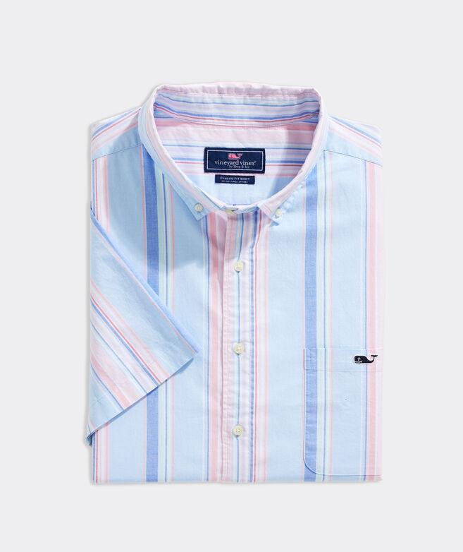 Big & Tall Stretch Cotton Short-Sleeve Shirt