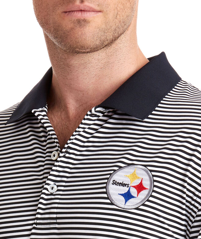 Pittsburgh Steelers Porter Stripe Polo