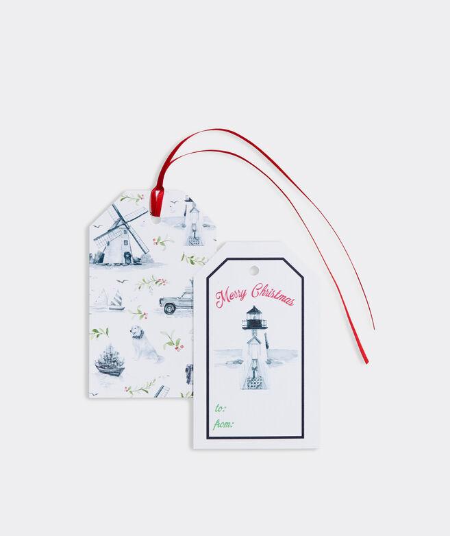 Meredith Hanson Nantucket Holiday Gift Tags