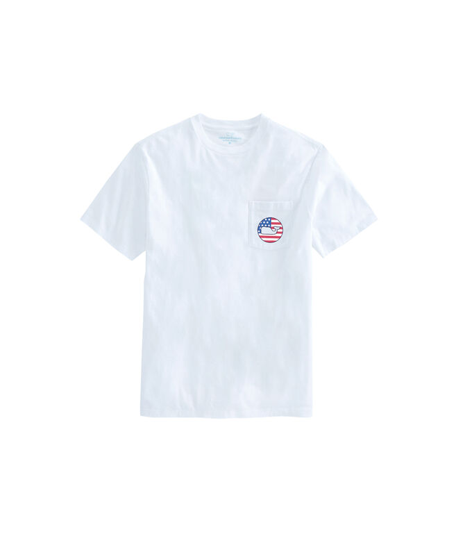 American Knockout Short-Sleeve Pocket Tee