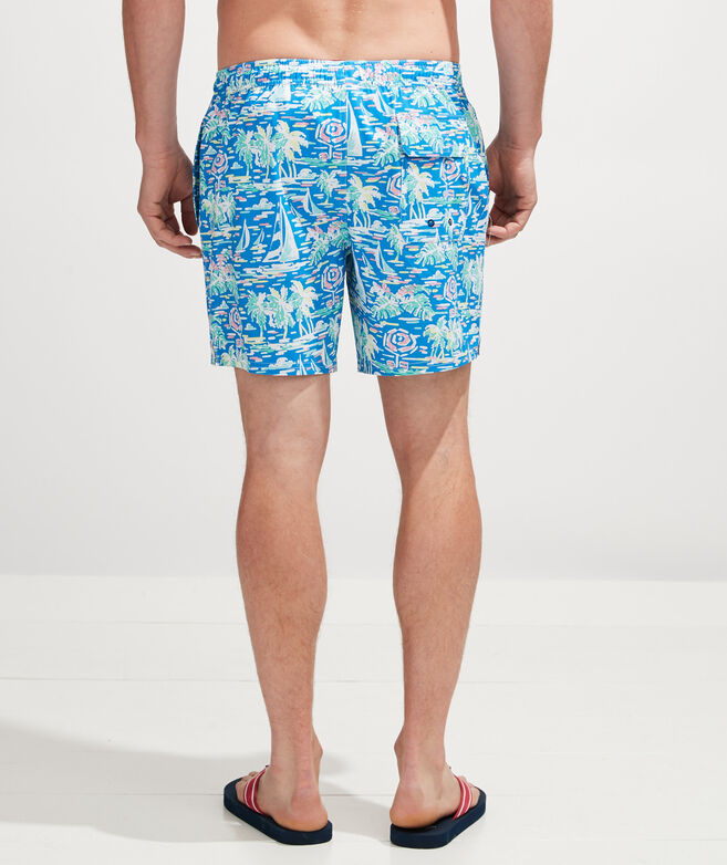 Printed Chappy Trunks