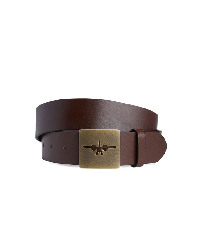 Sea Plane Cutout Buckle Belt