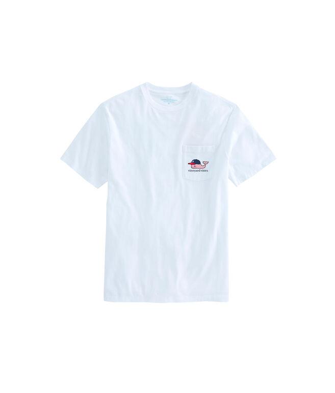 Adult Atlanta Braves Baseball Cap Pocket T-Shirt