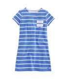 Girls Mixed Stripe Dress