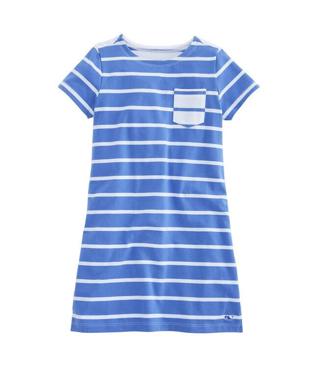 Girls Mixed Stripe Dress
