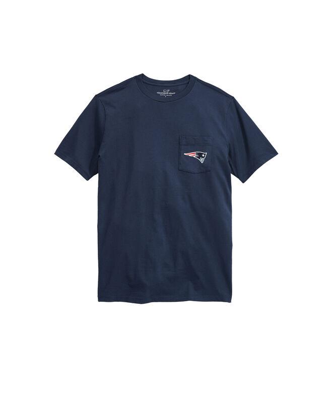 New England Patriots Block Stripe T-Shirt