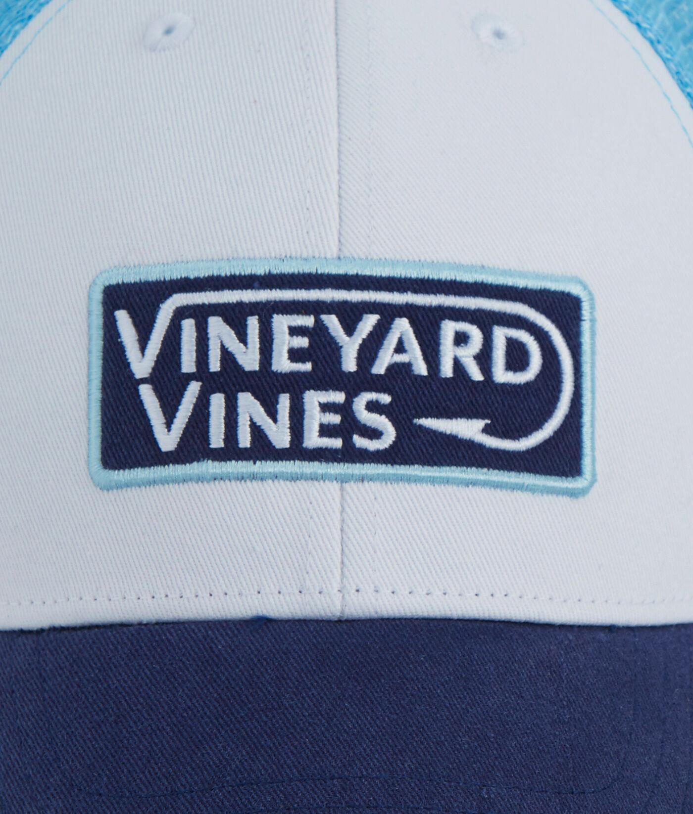 Shop vv Hook Patch Trucker Hat at vineyard vines