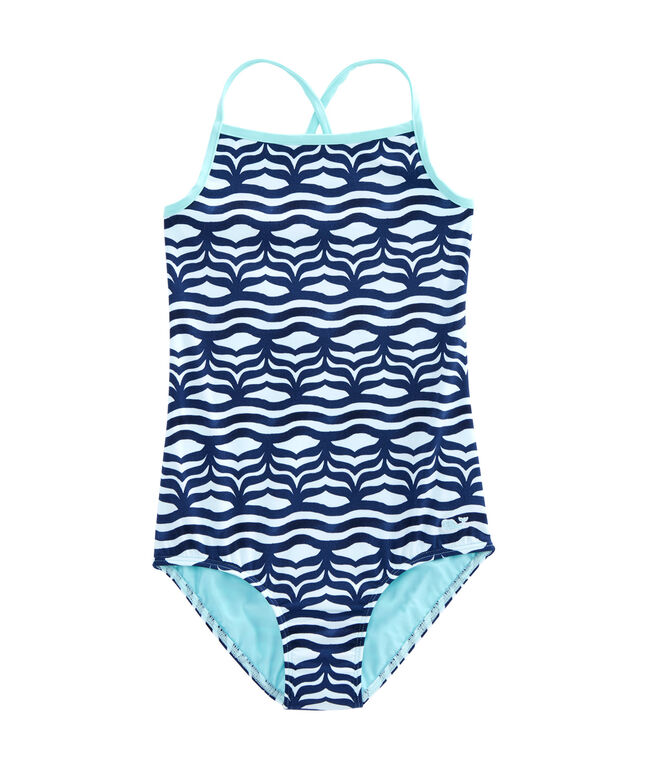 Girls Whale Tail One Piece